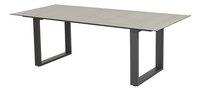 Ocean table de jardin Ely Charcoal L 220 x Lg 100 cm-Côté droit