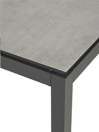 Ocean table de jardin Jura Charcoal L 150 x Lg 100 cm-Détail de l'article