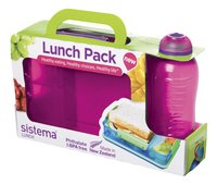 Sistema Lunchbox Attack Duo avec gourde Twist 'n' Sip-Détail de l'article