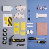 Stanley Jr. kit de construction Bulldozer-Image 1