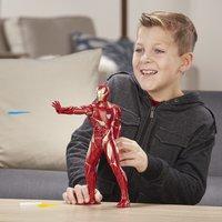 Hasbro figurine articulée Avengers Iron Man avec tir répulseur-Image 1
