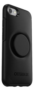 Otterbox cover Otter + Pop Symmetry Series Case voor iPhone 7/8 Black-Achteraanzicht