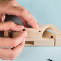 Stanley Jr. kit de construction Voiture de sport à rétrofriction-Image 3