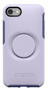 Otterbox Cover Otter + Pop Symmetry Series Case voor iPhone 7/8 Lilac Dusk-Achteraanzicht