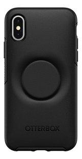 Otterbox coque Otter + Pop Symmetry Series Case pour iPhone X/Xs Black-Arrière