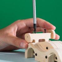 Stanley Jr. kit de construction Voiture de sport à rétrofriction-Image 5