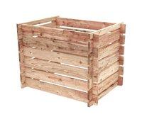 Hillhout Composteur en bois de douglas brun 365 l