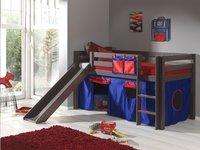 Rideau de jeu Pino bleu/rouge-Image 4