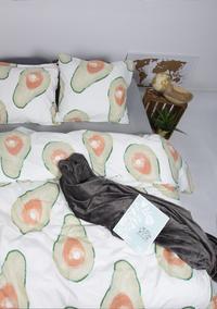 Gaaf Dekbedovertrek Avocado katoen/polykatoen-commercieel beeld
