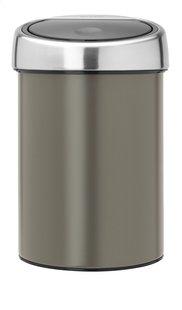 Brabantia Afvalemmer Touch Bin platinum 3 l