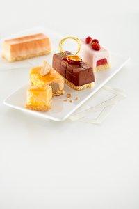 Lékué Bakvorm 6 round mini log cakes-Afbeelding 5