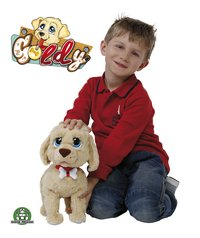 Peluche interactive Goldy