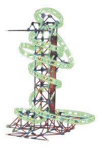 K'nex Thrill Rides Web Weaver-Vooraanzicht