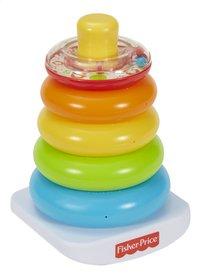 Fisher-Price Kleurenringpiramide-commercieel beeld