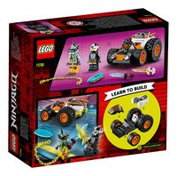 LEGO Ninjago 71706 Le bolide de Cole-Arrière