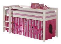Speelgordijn Pino eenhoorn roze-Linkerzijde
