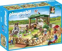 Playmobil City Life 6635 Parc animanlier avec visiteurs