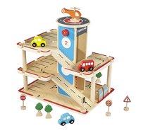 DreamLand Garage en bois avec monte-charge et 13 piéces-commercieel beeld
