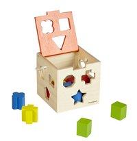 DreamLand trieur de formes Cube en bois
