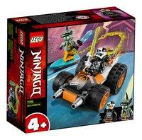 LEGO Ninjago 71706 Le bolide de Cole-Côté gauche
