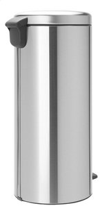 Brabantia Pedaalemmer newIcon matt steel 30 l-Linkerzijde