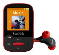SanDisk lecteur MP3 Clip Sports 4 Go rouge