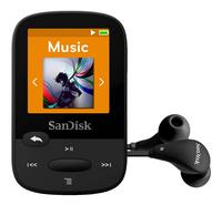 SanDisk Mp3-speler Clip Sports 4 GB zwart