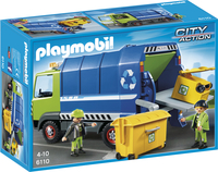 Playmobil City Action 6110 Vuilniswagen