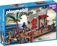 Playmobil 6146 SuperSet Îlot des pirates