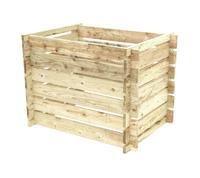 Hillhout Compostvat grenenhout bruin 365 l