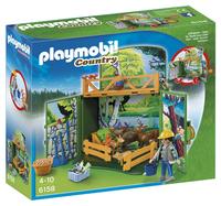 Playmobil Country 6158 Speelbox Leven in het bos