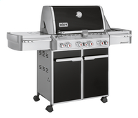 Weber Barbecue à gaz Summit E-470 GBS 'System Edition' black