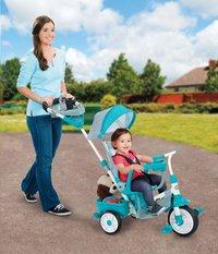 Little Tikes tricycle 4 en 1 Perfect Fit bleu-Image 2