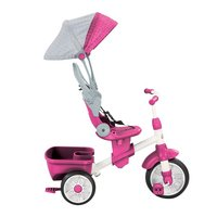 Little Tikes tricycle 4 en 1 Perfect Fit rose-Image 3