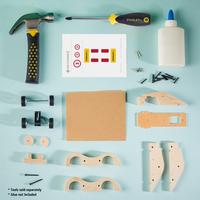 Stanley Jr. kit de construction Voiture de sport à rétrofriction-Image 1