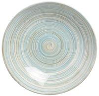 Cosy & Trendy 6 diepe borden Turbolino Ø 21 cm blauw-Bovenaanzicht