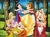 Ravensburger puzzel Sneeuwwitje en de prins-Vooraanzicht