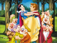 Ravensburger puzzel Sneeuwwitje en de prins