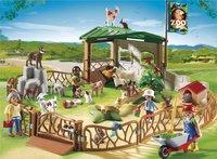 Playmobil City Life 6635 Parc animanlier avec visiteurs-Image 1