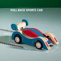 Stanley Jr. kit de construction Voiture de sport à rétrofriction-Détail de l'article
