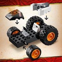 LEGO Ninjago 71706 Le bolide de Cole-Image 1