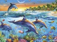 Ravensburger puzzle La baie des dauphins-Détail de l'article