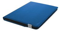 Trust Universele tablethoes 10/ Primo blauw-Linkerzijde