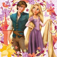 Ravensburger 3-in-1 puzzel Rapunzel-Vooraanzicht
