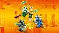 LEGO Ninjago 71709 Les bolides de Jay et Lloyd-Image 2