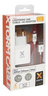 Xtorm adaptateur secteur USB avec câble lightning-Avant