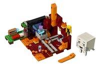 LEGO Minecraft 21143 Het Onderwereldportaal-Vooraanzicht