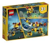 LEGO Creator 3-in-1 31090 Onderwaterrobot-Achteraanzicht