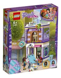 LEGO Friends 41365 L'atelier d'artiste d'Emma-Côté gauche