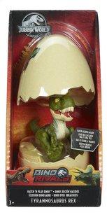 Jurassic World figuur Hatch 'n Play Dinos Tyrannosaurus Rex groen-Vooraanzicht